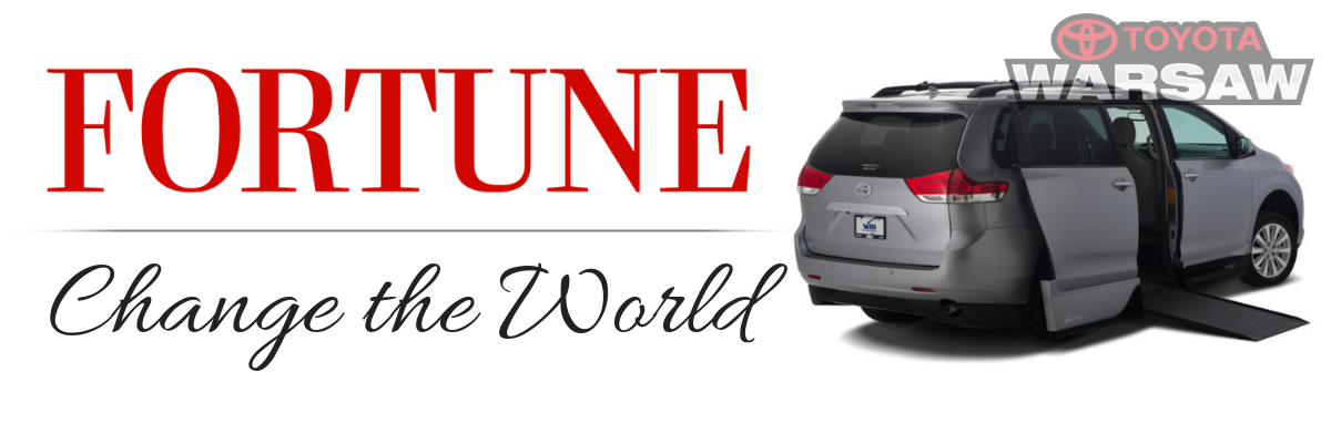 """Toyota Named to Fortune Magazine's """"Change the World"""" List...Again"""