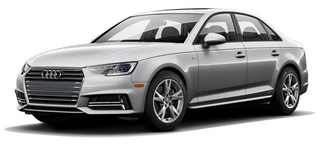 2018 Audi A4 Color Options