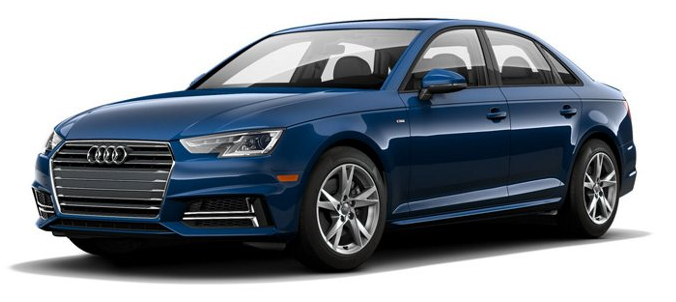 2018 Audi A4 Color Options