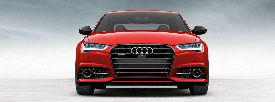 2018 Audi A6 Front View of Red Exterior