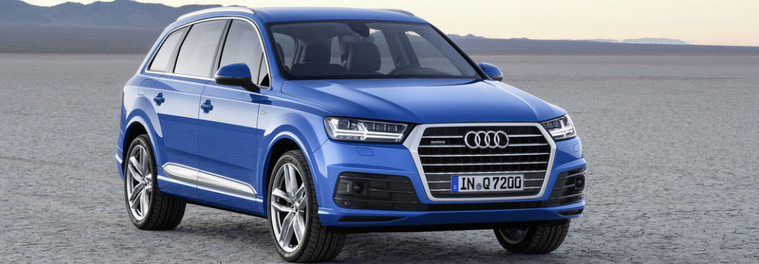 Audi Q Passenger And Cargo Space - How much is an audi q7