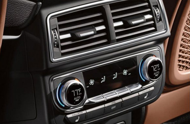 2019 Audi Q7 climate control system
