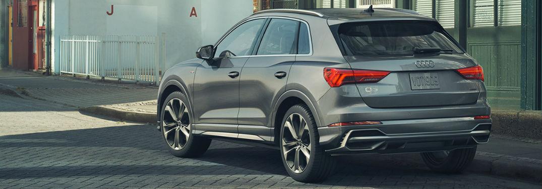 2020 Audi Q3 in gray
