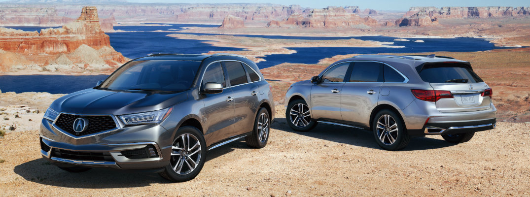 new features and performance of 2018 Acura MDX