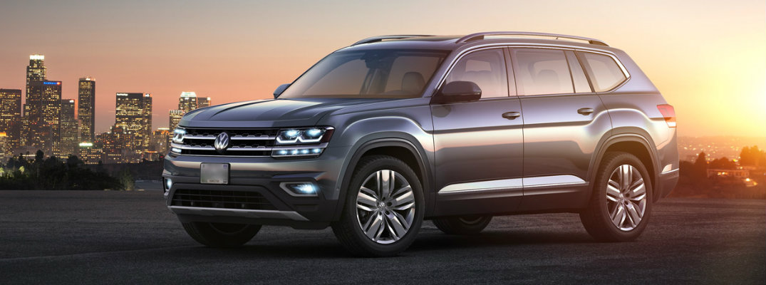 2018 volkswagen atlas in the sunset hansel volkswagen hansel volkswagen