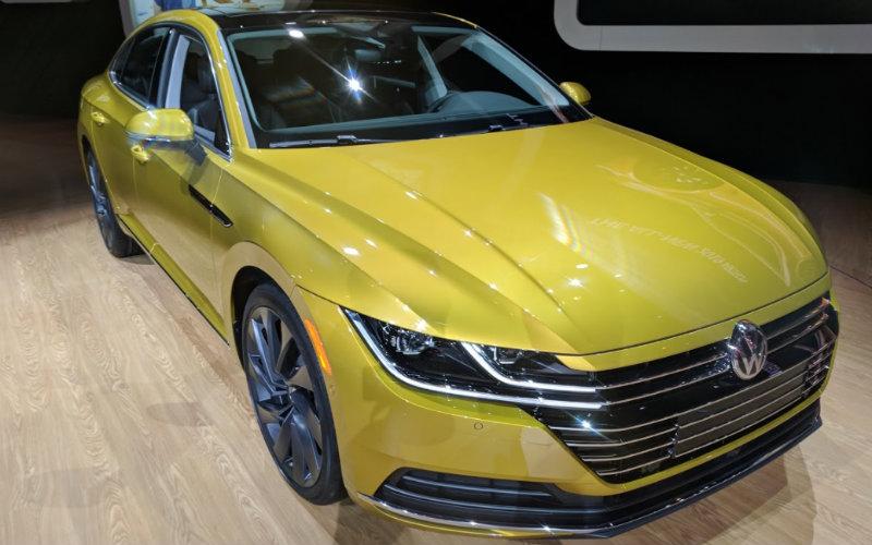 2019 Volkswagen Arteon Chicago Auto Show debut and new features