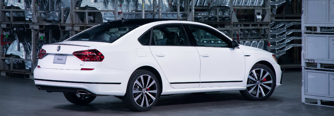 2018 Volkswagen Passat parked from the side