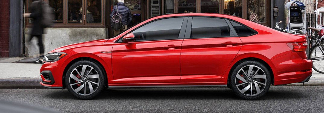 2020 Volkswagen Jetta GLI parked on a city street