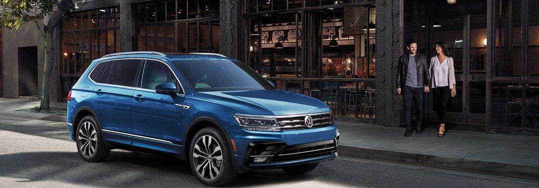 2020 Volkswagen Tiguan parked on a city street
