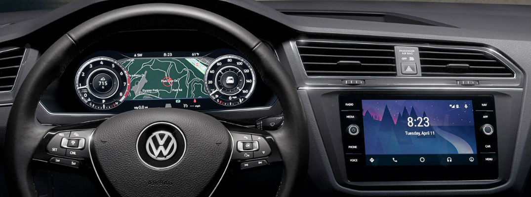 2018 Vw Tiguan Available Driver Assistance Systems And