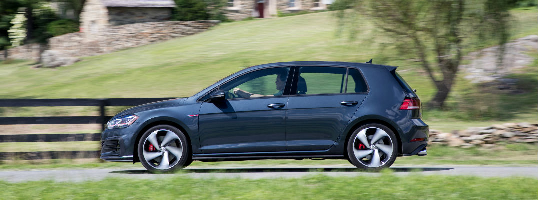 2018 VW Golf GTI Side View of Exterior