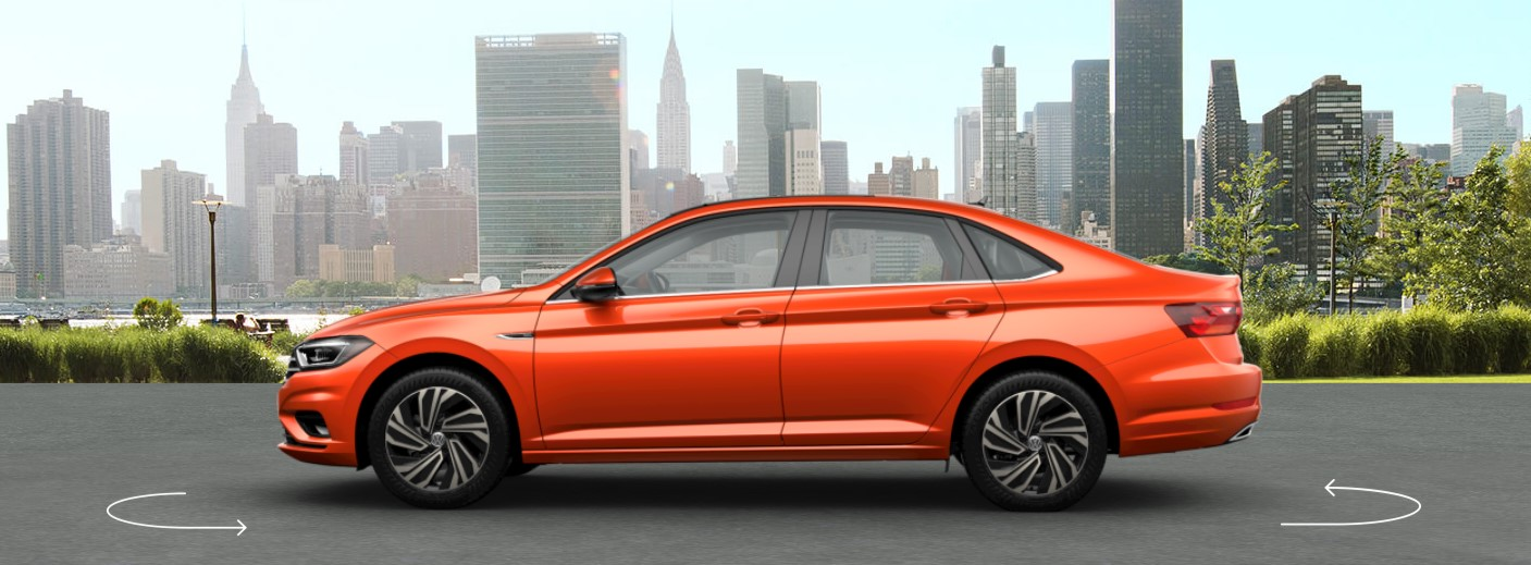 2019 VW Jetta Habanero Orange Metallic Exterior