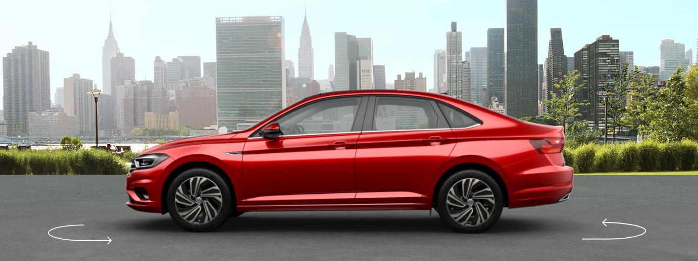 2019 VW Jetta Tornado Red Exterior