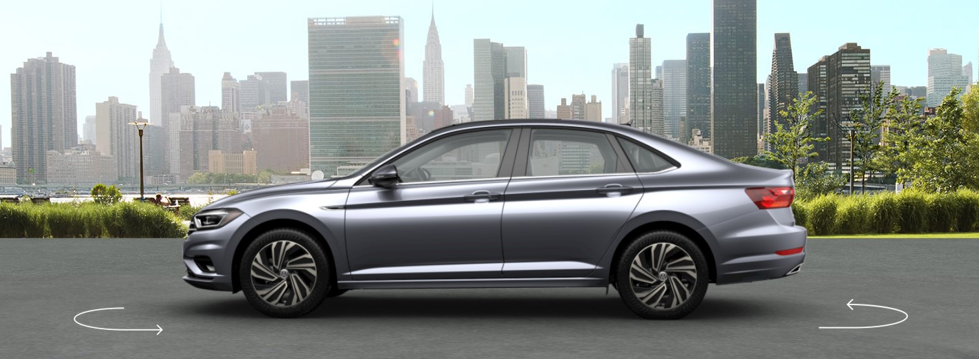 2019 VW Jetta Platinum Gray Metallic Exterior