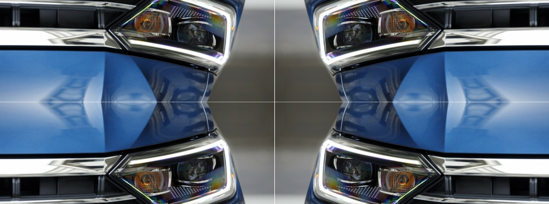 Mirrored image of the 2019 VW Jetta