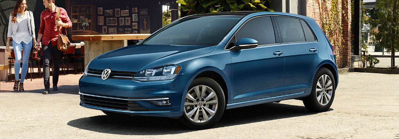 Silk Blue Metallic 2018 Volkswagen Golf