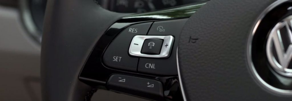 Volkswagen Adaptive Cruise Control Button