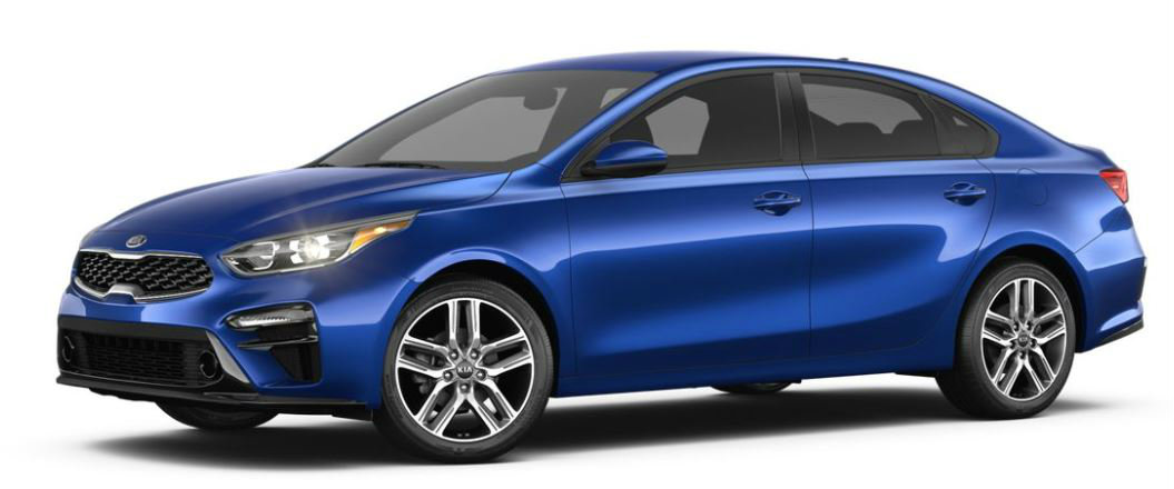 2019 Kia Forte in Deep Sea Blue