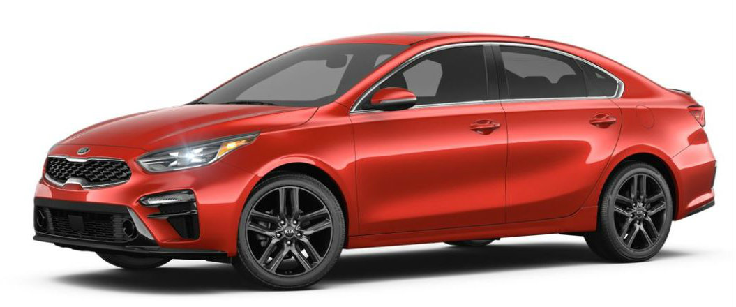 2019 Kia Forte in Fire Orange