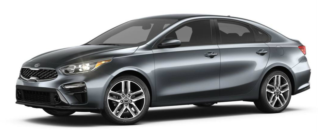 2019 Kia Forte in Gravity Grey