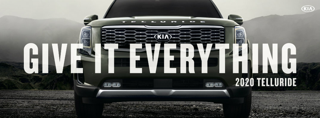 "Kia Telluride ""Give It Everything"" Banner"