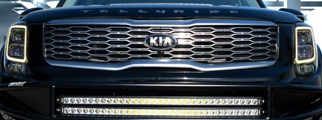 Front Grille of the 2020 Kia Telluride
