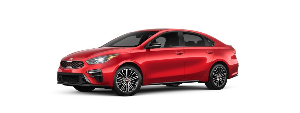 2020 Kia Forte in Currant Red