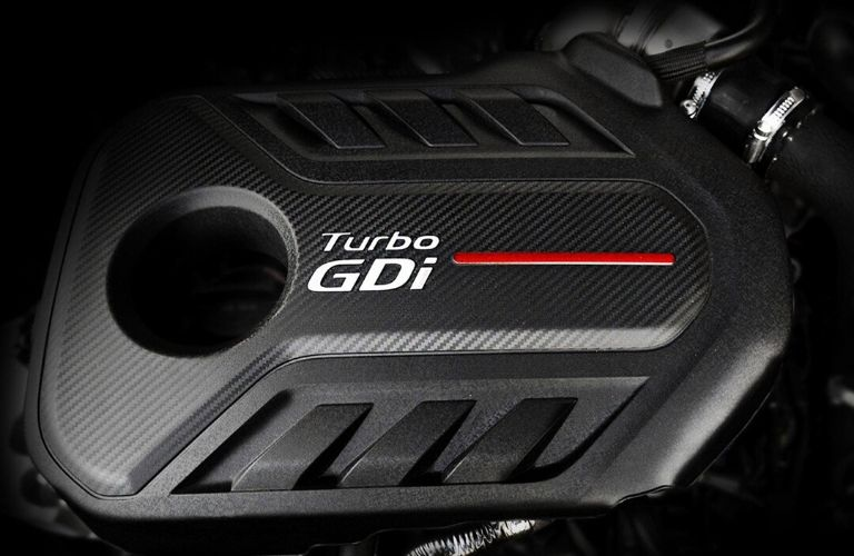 Image of a 2020 Kia Optima turbo engine