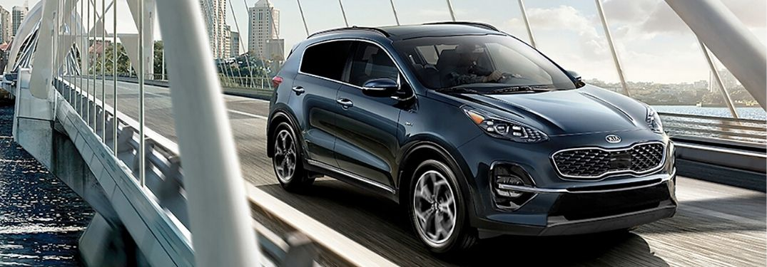 What Exterior Color Options Are Available For the 2020 Kia Sportage Trim Levels?