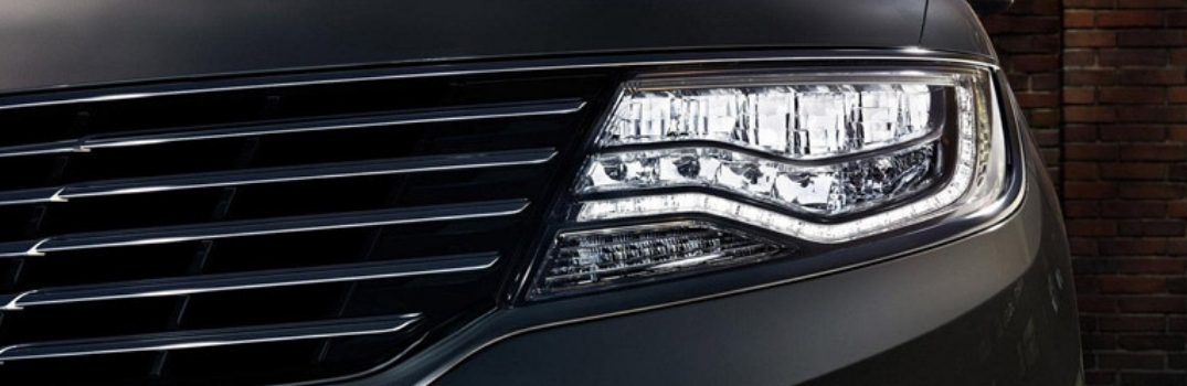 LED headlight of 2018 MKX