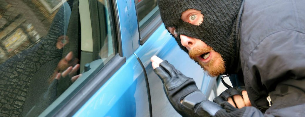 How can I prevent my car from being broken into or stolen?