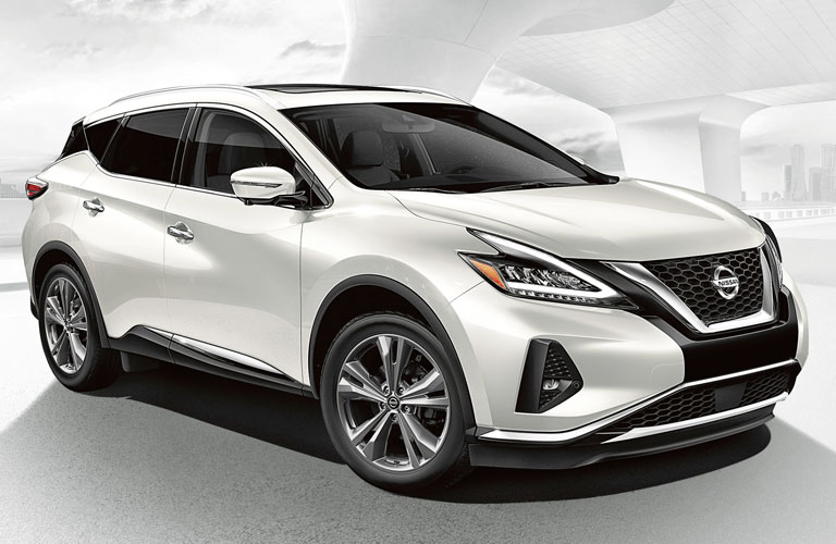 2020 Nissan Murano parked with a white background