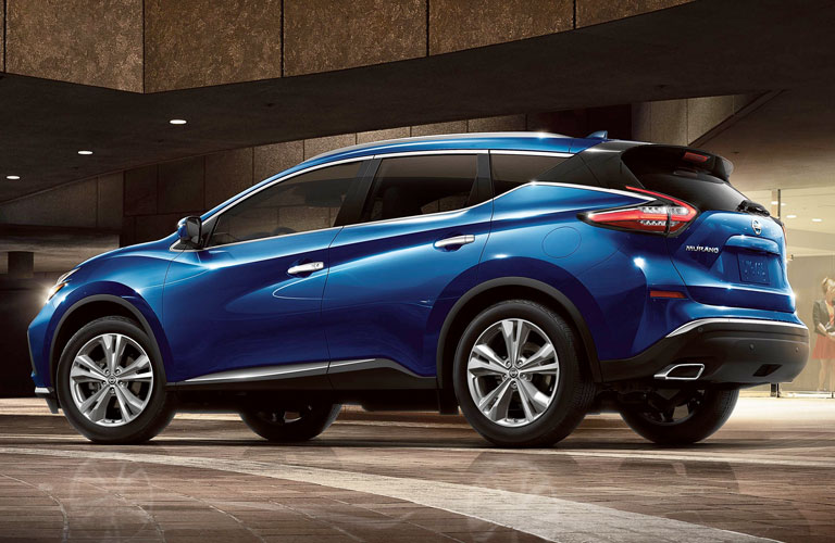 Back end of the 2020 Nissan Murano