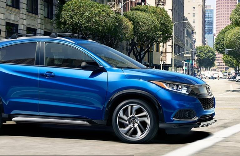 2020 Honda HR-V going down the street