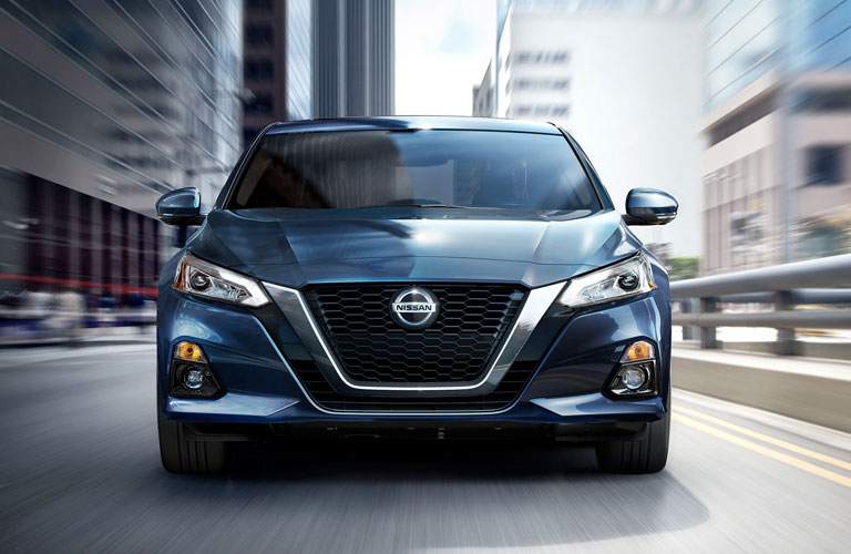 Front end of the 2020 Nissan Altima