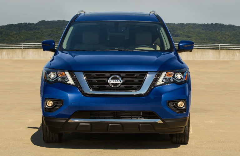 Front end of the 2020 Nissan Pathfinder