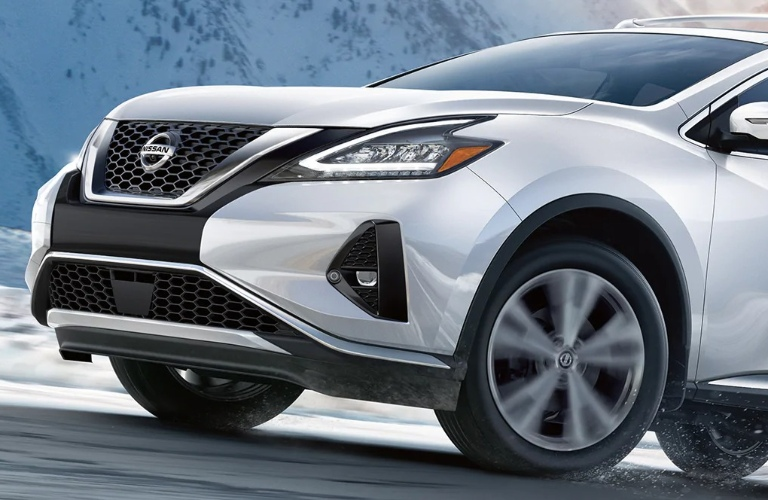 2021 Nissan Murano front end