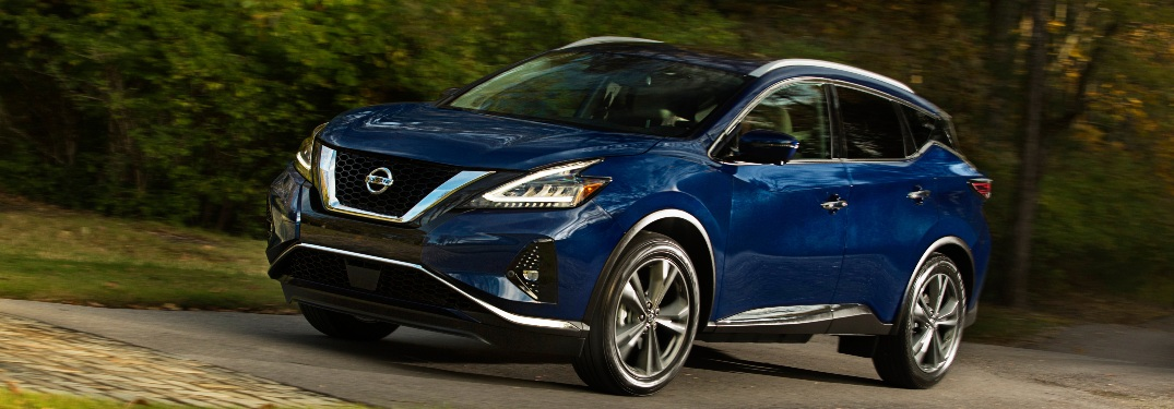 2021 Nissan Murano going down the street