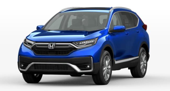 2021 Honda CR-V Aegean Blue Metallic