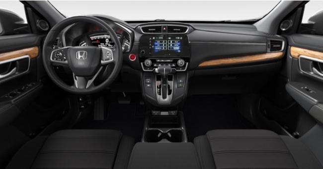 2021 Honda CR-V Black Cloth