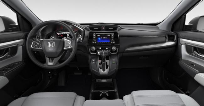 2021 Honda CR-V Gray Cloth Interior