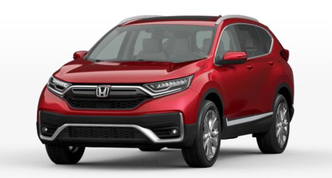 2021 Honda CR-V Radiant Red Metallic