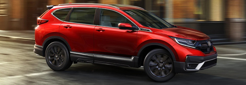 2021 Honda CR--V going down the road