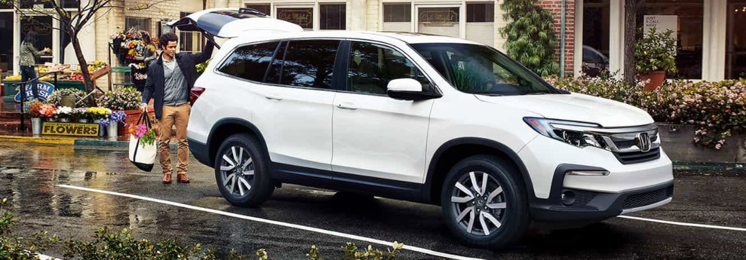 How much space is in the 2021 Honda Pilot?