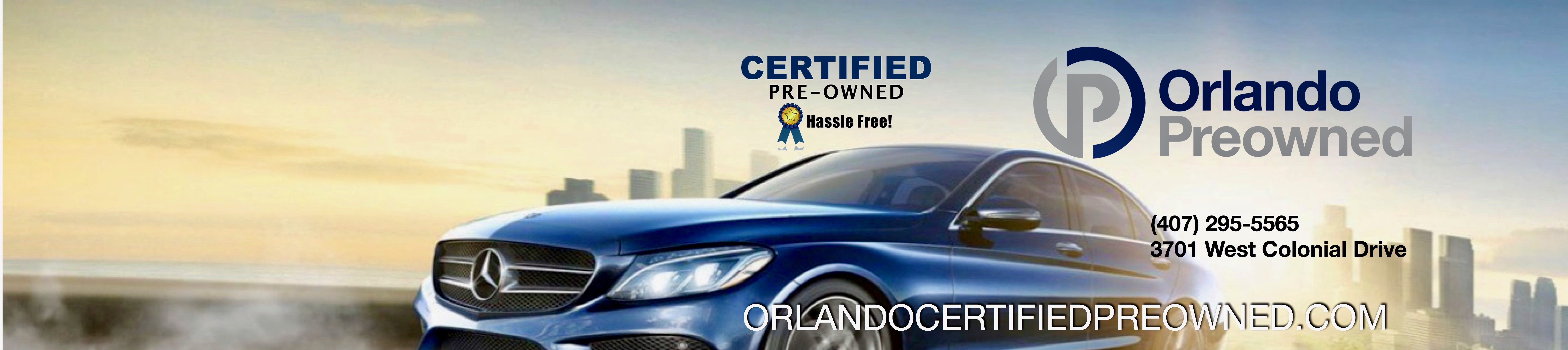 Certified Pre-owned Vehicles in Orlando