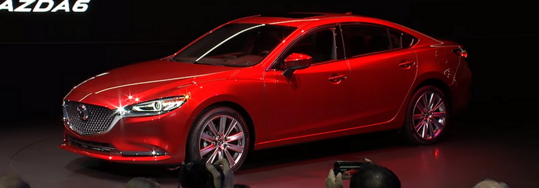 VIDEOS: All-new Mazda6 unveiled