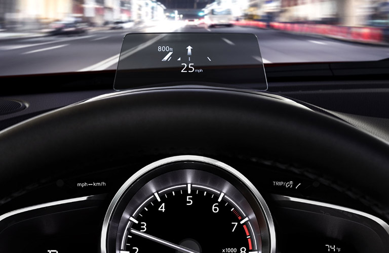 2018 Mazda CX 3 Head Up Driving Display