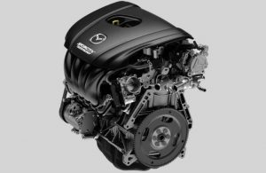 2018 Mazda3 engine