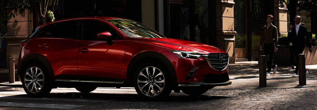 2019 Mazda CX-3 side profile