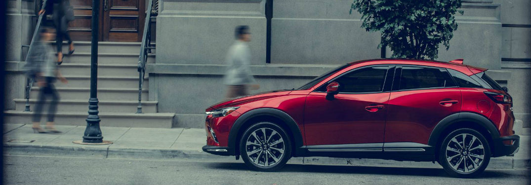 2019 Mazda CX-3 parked on a street